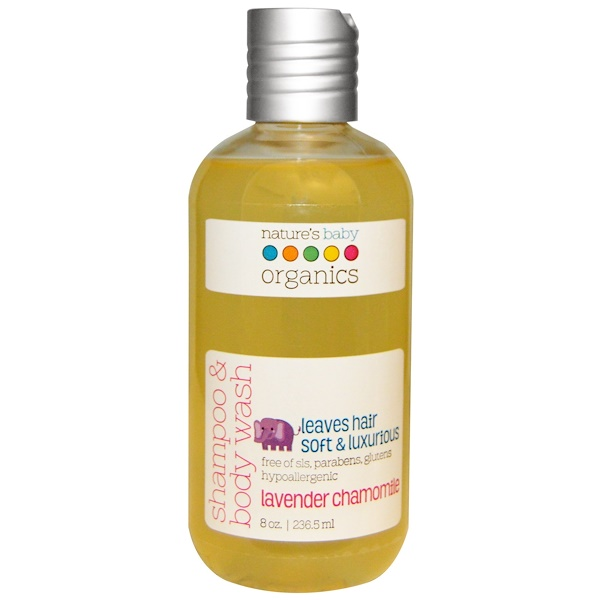 Shampoo & Body Wash, Lavender Chamomile, 8 oz (236.5 ml)