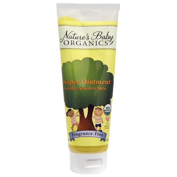 Nature's Baby Organics, Diaper Ointment, Fragrance Free, 3 oz (85.05 g)