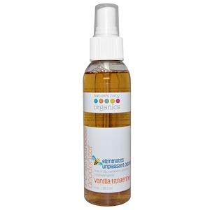 Нэйчерс Бэйби органикс, PU All Purpose Deodorizer, Vanilla Tangerine, 4 oz (118.3 ml) отзывы покупателей