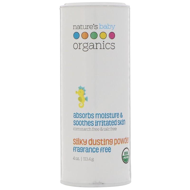 Silky Dusting Powder, Fragrance Free, 4 oz (113.4 g)