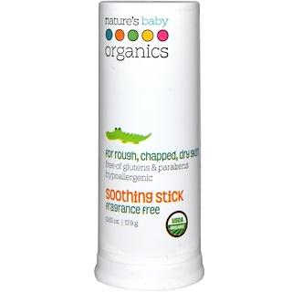 Nature's Baby Organics, 수딩 스틱, 무향, 0.63 oz (17.9 g)