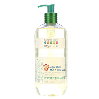 Nature's Baby Organics, Shampoo & Body Wash, Coconut Pineapple, 16 oz (473.2 ml)