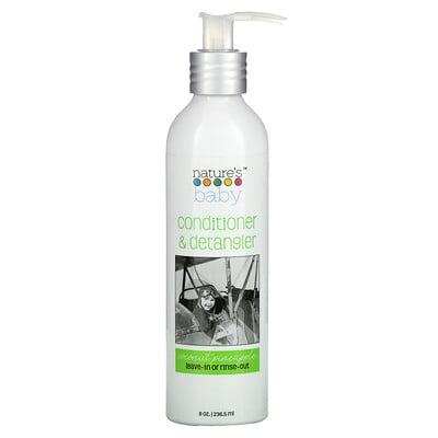 Nature's Baby Organics Conditioner & Detangler, Coconut Pineapple, 8 oz (236.5 ml)