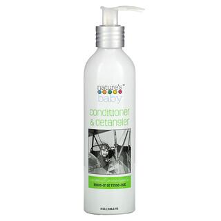 Nature's Baby Organics, Conditioner & Detangler, Coconut Pineapple, 8 oz (236.5 ml)