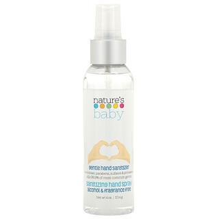 Nature's Baby Organics, Gentle Hand Sanitizer, Alcohol & Fragrance Free, 4 oz (113.4 g)