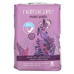 Natracare, 有機棉套,超大護墊,大號,12 片大號護墊