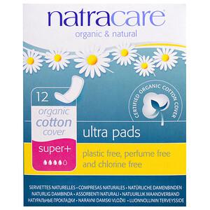 Натракэр, Ultra Pads, Organic Cotton Cover, Super+, 12 Pads отзывы