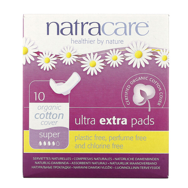 Organic & Natural Ultra Extra Pads, Super, 10 Pads