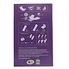 Natracare, Dry & Light, покрытие из органического хлопка, Slim, 20 прокладок
