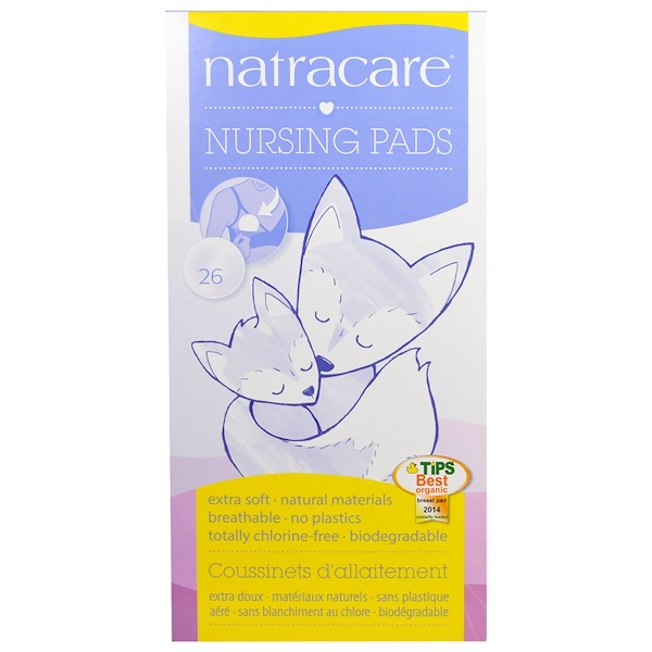 Natracare, Прокладки для кормящих мам, 26 штук (Discontinued Item)
