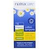 Natracare, Organic Cotton Tampons, Regular, 16 Tampons