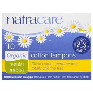 Натракэр, Organic Cotton Tampons, Regular, 10 Tampons отзывы покупателей