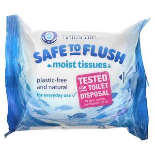 Natracare, Safe to Flush, Moist Tissues, 30 Tissues