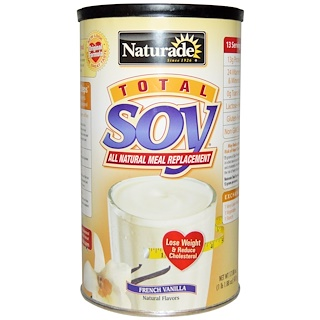Naturade, Total Soy All Natural Meal Replacement, French Vanilla, 17.88 oz (507 g)