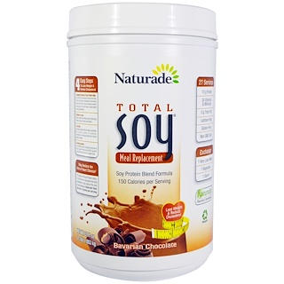 Naturade, 식사 대용 토탈 소이, 바바리안 초콜릿, 37.1oz(1.053kg)