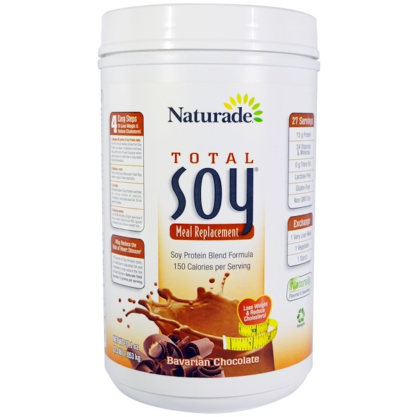 Naturade, Total Soy Meal Replacement, Bavarian Chocolate, 37.1 oz (1.053 kg) (Discontinued Item)