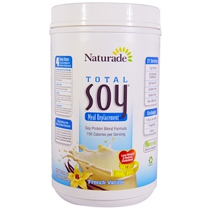 Натураде, Total Soy Meal Replacement, French Vanilla, 37.1 oz (1.053 kg) отзывы