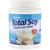 Naturade, Total Soy, Weight Loss Shake, Vanilla, 1.2 lbs (540 g)