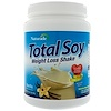 Naturade, Total Soy, Weight Loss Shake, Vanilla, 19.1 oz (540 g)