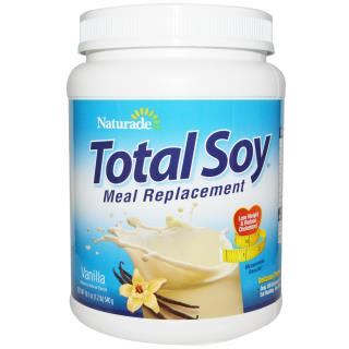 Naturade, Total Soy, Meal Replacement, Vanilla, 19.1 oz (540 g)