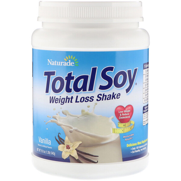 Total Soy, Weight Loss Shake, Vanilla, 1.2 lbs (540 g)