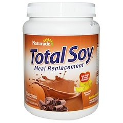 Naturade, Total Soy, Meal Replacement, Chocolate, 19.1 oz (540 g)