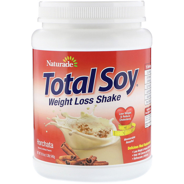 Total Soy, Weight Loss Shake, Horchata, 1.2 lbs (540 g)