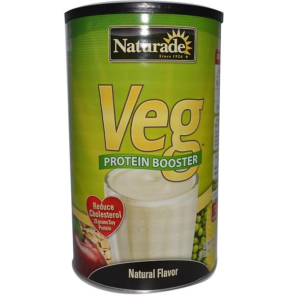 Naturade, Veg Protein Booster, Natural Flavor, 30 oz (852 g) (Discontinued Item)