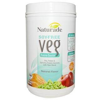 Naturade, 소이 프리  베지, 프로틴 부스터, 천연 맛, 20.6 oz (840 g)