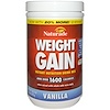 Naturade, Weight Gain, Instant Nutrition Drink Mix, Vanilla, 20.3 oz (576 g)