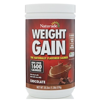 Naturade, Weight Gain, Chocolate, 20.3 oz (576 g)