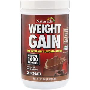 Натураде, Weight Gain, Chocolate, 20.3 oz (576 g) отзывы