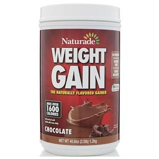 Naturade, Weight Gain, Chocolate, 40.6 oz (1.2 kg)