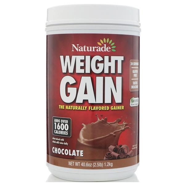 Naturade, Средство набор массы, шоколад, 1,2 кг (Discontinued Item)