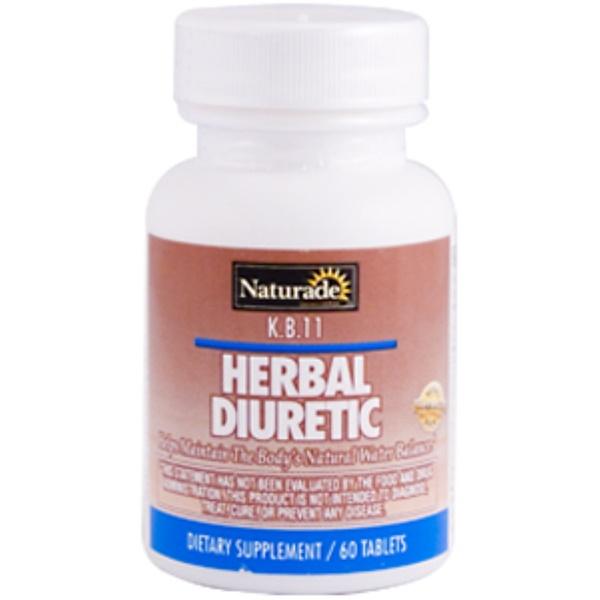 Naturade, Herbal Diuretic, 60 Tablets (Discontinued Item)