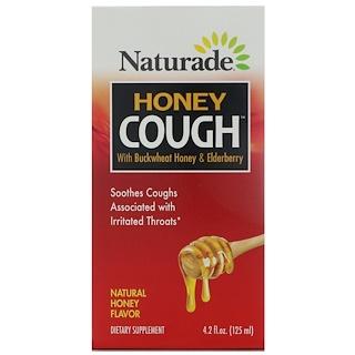 Naturade, Honey Cough with Buckwheat Honey & Elderberry, Natural Honey Flavor, 4.2 fl oz (125 ml)