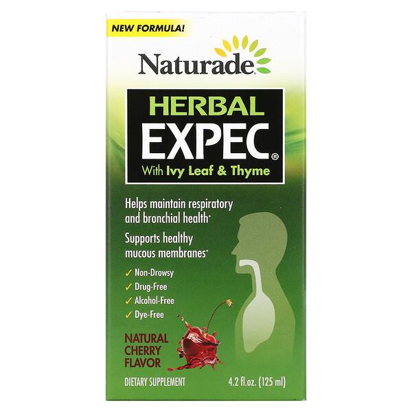 ハーバルEXPEC(エクスペック)、気になるイガイガをハーブでスッキリ、天然チェリー味、125ml(4.2液量オンス)