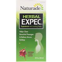 Herbal Expec, Природный вкус вишни, 8,8 жидких унций (260 мл) - фото