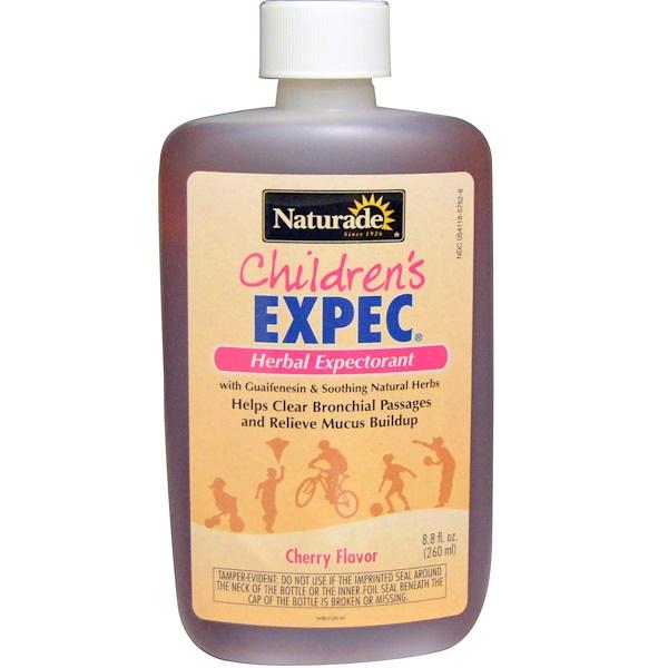 Naturade, Детский Экспек, вишневый вкус, 8,8 жидк. унц. (260 мл) (Discontinued Item)