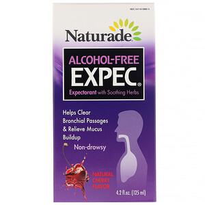 Натураде, Alcohol Free EXPEC, Herbal Expectorant, Natural Cherry Flavor, 4.2 fl oz (125 ml) отзывы