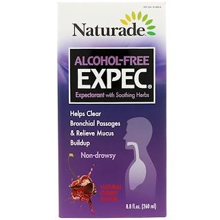 Naturade, Alcohol-Free Expec, Cherry Flavor, 8.8 fl oz (260 ml)