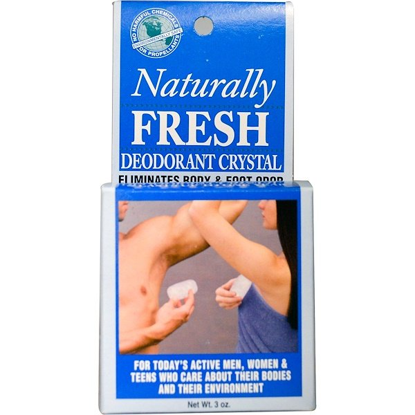 Naturally Fresh, Deodorant Crystal, 3 oz (Discontinued Item)