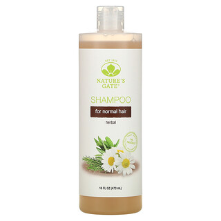 Nature's Gate, Herbal Shampoo for Normal Hair, 16 fl oz (473 ml)