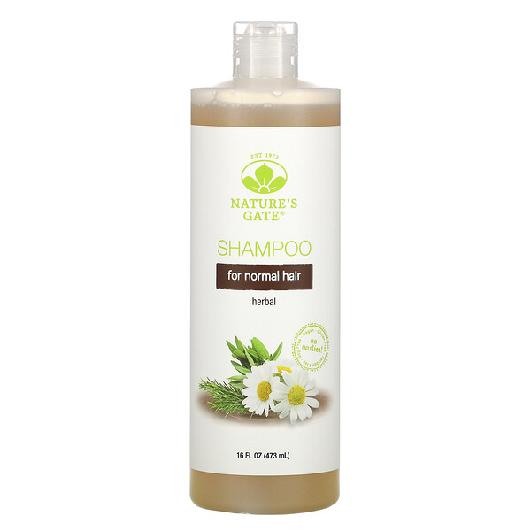 Herbal Shampoo for Normal Hair, 16 fl oz (473 ml)