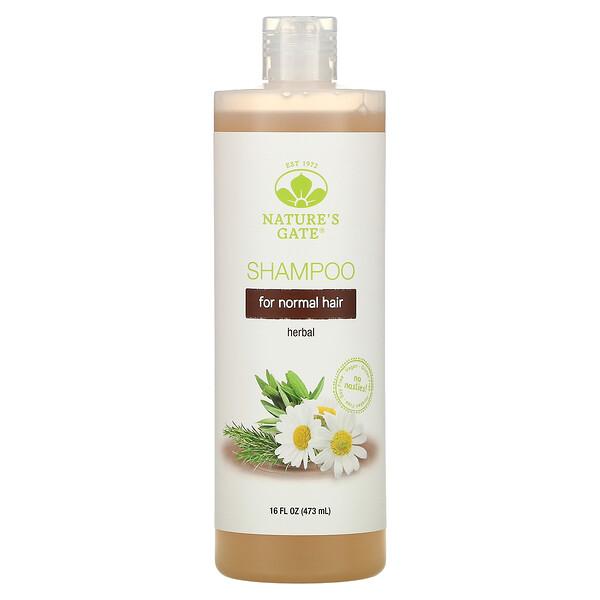 Herbal Shampoo for Normal Hair, 16 fl oz (473 ml)