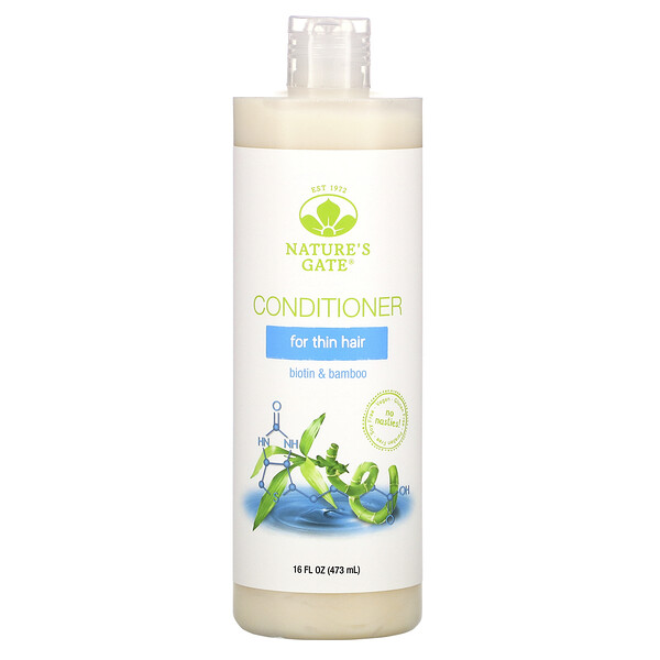 Biotin & Bamboo Conditioner for Thin Hair, 16 fl oz (473 ml)