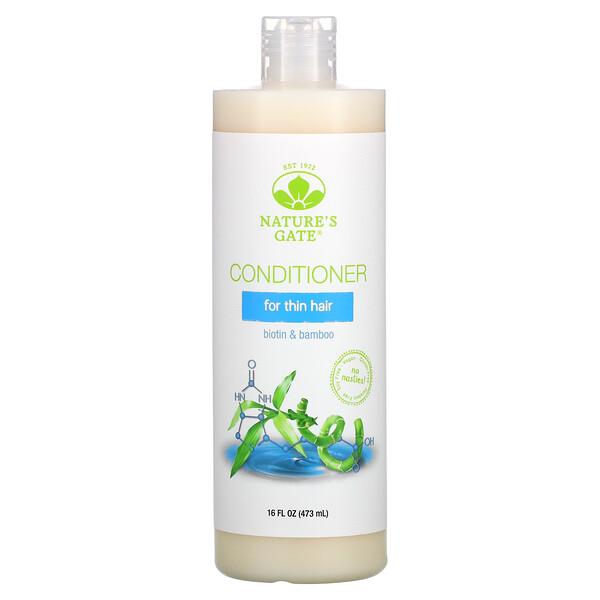 Biotin & Bamboo Conditioner for Thin Hair, 16 fl oz (473 ml)