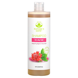 Nature's Gate, Awapuhi Ginger & Holy Basil Shampoo for Oily Hair, 16 fl oz (473 ml)