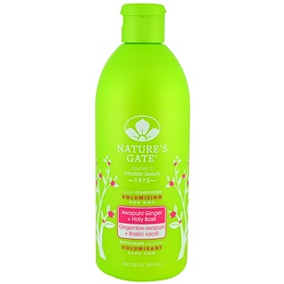 Nature's Gate, Conditioner, Volumizing, Vegan,  Awapuhi, 18 fl oz (532 ml)