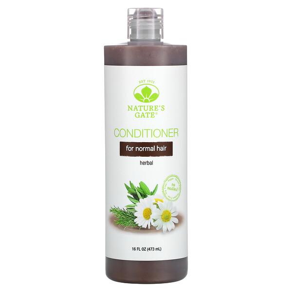 适合中性发质的草本护发素,16 液量盎司(473 毫升)